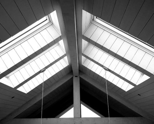 Beautiful wooden ceilings by Whelan Building Waiheke Island