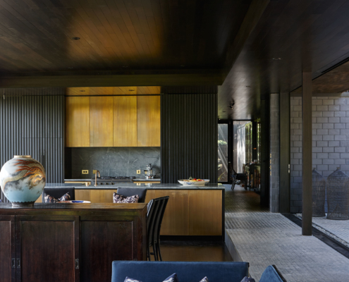 Architectural masterpiece built by Waiheke Island Builders Whelan Building