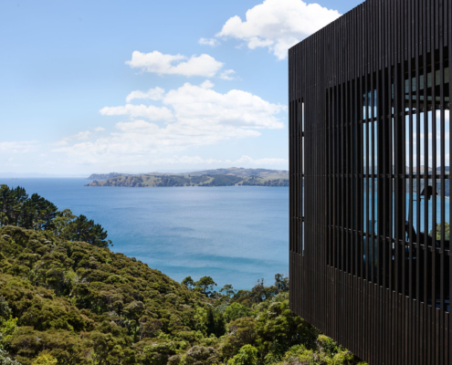 Architectural design paired with high end quality builders Whelan Building on Waiheke Island