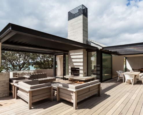 Beachfront Escape built by Waiheke Builders Whelan Building